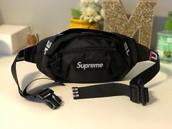 Brand New Supreme Black Waist Shoulder Bag Fanny Pack for Women amp; Men Unisex $45.00