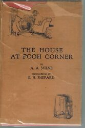 The House At Pooh Corner 1928 1st Edition Hc Book