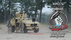 Go-truck 1/6 Full Metal M-atv Mrap All-terrain Vehicle Model For 12and039and039 Pre-order