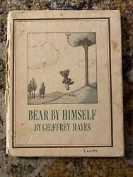 Vintage Childrens Book Bear By Himself By Geoffrey Hayes 1976 First Edition