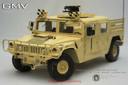 Go-truck 1/6 Metal Armored Gmv Hmmwv Gt017-013-mvgmv Car Model For 12and039and039 Instock
