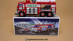 Hess 2005 Emergency Truck Includes Original Box New In Box Never Displayed