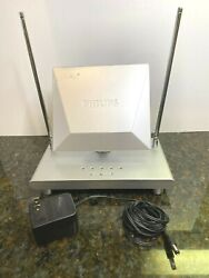 Mant510 Philips High Defenition Indoor Amplified Antenna Uhf/vhf/fm/hdtv 50db