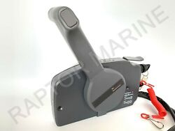 Side Mount Remote Control Box For Yamaha Outboard, 7 Pin Cable, Push Throttle