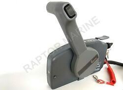 Side Mount Remote Control Box For Yamaha Outboard 10 Pin Cable Push Throttle