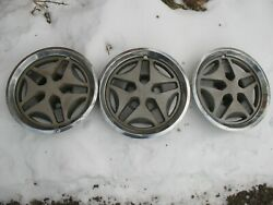 3 1981 1984 1983 Amc Concord Spirit And Oem 14 Hubcap Wheel Covers