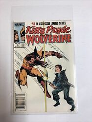 Kitty Pryde And Wolverine 1984 3 Nm | Canadian Price Variant Cpv |