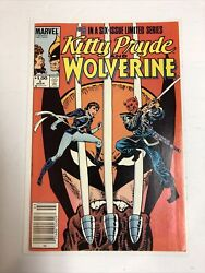 Kitty Pryde And Wolverine 1984 5 Nm | Canadian Price Variant Cpv |