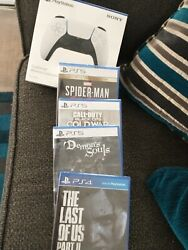 Sony Playstation Disk Edition Bundle - White- Factory Sealed