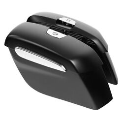 Matte Black Saddlebags Fit For Indian Chieftain Springfield Dark Horse 2019-2020