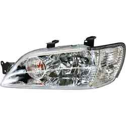 Headlight For Lancer 02-03 Replaces Oe Mr972589