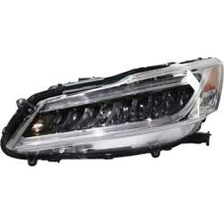 Headlight For Accord 16-17 Replaces Oe 33150t2aa32