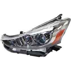 Headlight For Prius V 15-18 Replaces Oe 8117047650