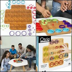 Otrio Strategy-based Board Game, For Adults, Families, And Kids Ages 8 And Up