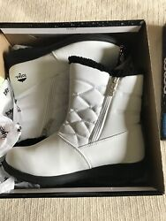 New Women's Totes Waterproof Boots Size 9 Med White Will Ship Without Box $23.95