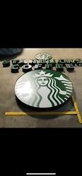 Starbucks Signs 15 12andrdquo Letters