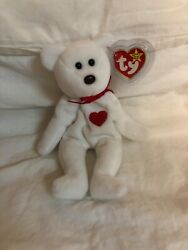 1993 Valentino Ty Beanie Baby Brown Nose Retired, Tag Errors Mint Condition.