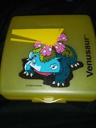 Tupperware Pokemon Venusaur And Clefable Sandwich Box Keeper Container