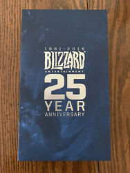 Blizzard Employee Gift 25 Year Anniversary External Battery Pack Free Shipping