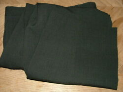 Mens Giorgio Armani Dress Pants Size 32 X 27 100 Wool Made In Italy Black 285