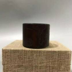 Chinese Natural Bamboo Hand-carved Exquisite Ring 1839