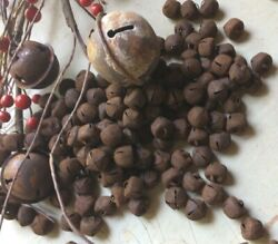 500 Primitive Rusty Rust Jingle Bells Bell 12mm 1/2 In .47 Christmas Crafts