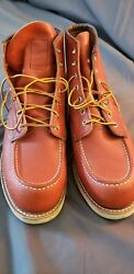 Mens Red Wing Moc Toe Boots 8875 Japan Exclusive Sz 12e