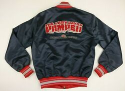 Vtg Rare 80s Columbia Pictures Television The Last Days Of Pompeii Satin Jacket