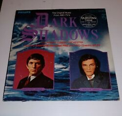 Vtg 33 1/3 Abc-tv Dark Shadows Original Music Philips Record Album Phs-600-314