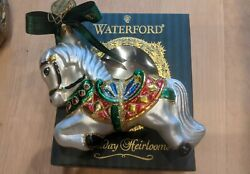 Very Rare First Edition Waterford Holiday Heirlooms Carousel Horse 2000