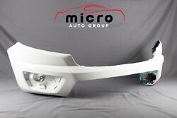 15 16 17 18 19 20 Colorado Front Bumper Oem Painted White 23484644