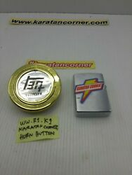 Jdm - Toyota - Oldschool Horn Button Teq For Momo And Nardi Steering Gold -