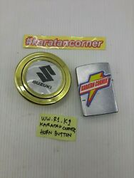 Jdm - Suzuki - Oldschool Horn Button For Momo And Nardi Steering Gold -