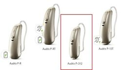 A Pair Lt And Rt Of Audeo P90-312 Disposable Battery Size 312 Ric Hearing Aids