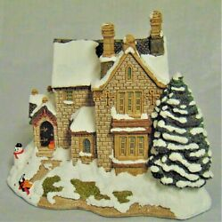 Lilliput Lane The Old Vicarage At Christmas - Box And Deed