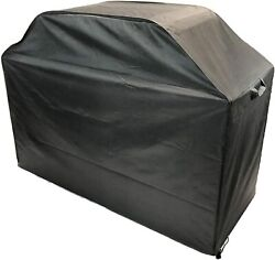 Heavy Duty Waterproof 60 Inch Bbq Gas Grill Cover Black Fits Most Brands Of 3