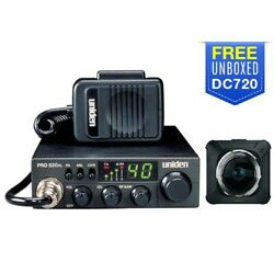 Uniden Pro520xl With Free Dc720 Camera Cb Radio With Unboxed Dashcam