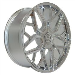 4 G46 20 Inch Chrome Rims Fits Ford F-150 2wd 2004 - 2018
