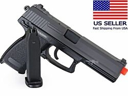 AIRSOFT Spring Pistol Hand Gun USP Style Full Size Heavy Government .45 w BB