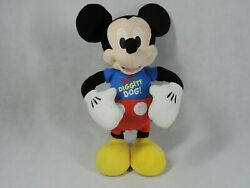 Disney Mickey Mouse Club Hot Diggity Dog Dance Break And Play Toy Works