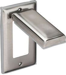 Marinco Gfci Outlet Cover - Stainless Steel
