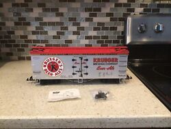 Usa Trains G Scale R16368 Krueger Beer/ale - Silver/red Reefer