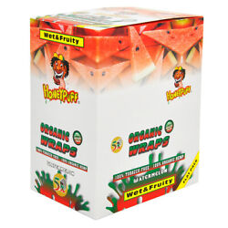 Honeypuff King Size Watermelon Flavored Cigar Rolling Papers 250leaves Full Box