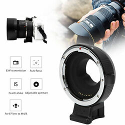 Portable Af Adapter Ring For Canon Ef/ef‑s Lens To For Olympus M4/3 Mount Camera