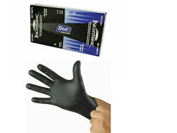 Box of Black Nitrile Gloves 4mil thick NightHawk Large *MADE IN USA* $15.00