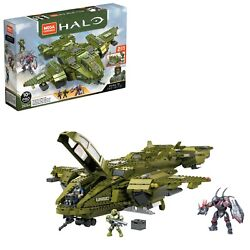 Mega Construx Halo Infinite Pelican Inbound Building Block Toy For Ages 10 And Up