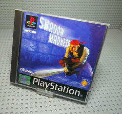 Shadow Madness - Sony Playstation 1 Ps1 - Pal French