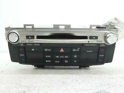 Audio And Visual Equip.radio Idnxh-9718 Lexus Gs350 13 Sold As Is No Warranty