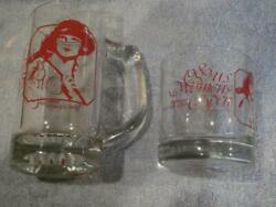 Vintage Lot Of 2 1989 Us Women's Open Glasses - Indianwood Golf And Country Club