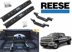 Reese 56001-53 Fifth Wheel Rail And Bracket Kit For 2011+ Silverado And Sierra New